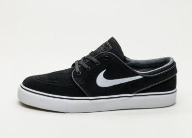 Кроссовки Nike SB Zoom Stefan Janoski - Black / White - Thunder Grey - Gum Light Brown