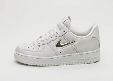 Кроссовки Nike Wmns Air Force 1 '07 PRM LX - Phantom / Metallic Gold Star - Summit White