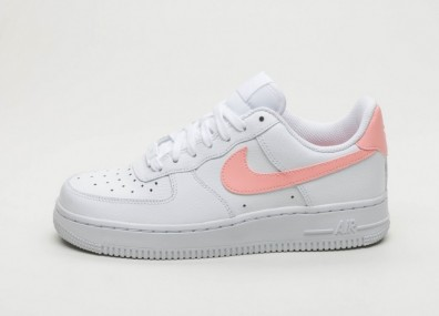 Кроссовки Nike Wmns Air Force 1 Low (White / Oracle Pink - White)