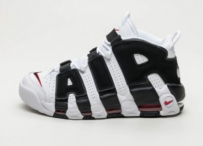 "Кроссовки Nike Air More Uptempo ""Scottie Pippen"" - White / Black - University Red"