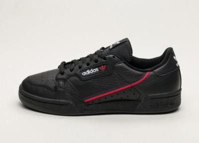 Кроссовки adidas Continental 80 (Core Black / Scarlet / Collegiate Navy)