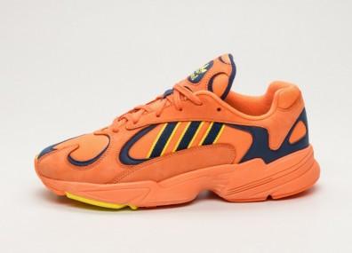 Кроссовки adidas Yung-1 - Hi-Res Orange / Hi-Res Orange / Shock Yellow