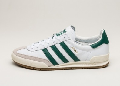 Кроссовки adidas Jeans - Ftwr White / Collegiate Green / Clear Brown
