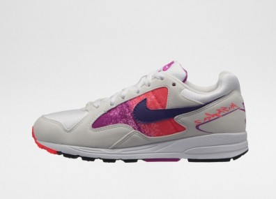 Кроссовки Nike Wmns Air Skylon II (White / Court Purple - Solar Red)