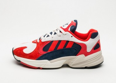 Кроссовки adidas Yung-1 - Chalk White / Core Black / Collegiate Navy