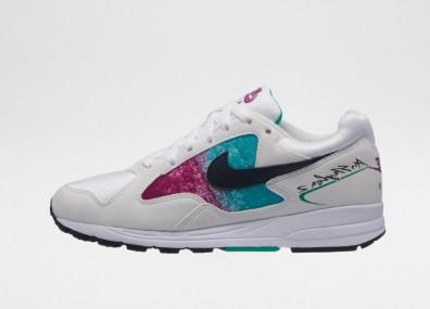Кроссовки Nike Wmns Air Skylon II (White / Black - Clear Emerald)
