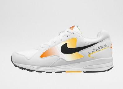Кроссовки Nike Air Skylon II (White / Black - Amarillo - Total Orange)