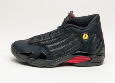"Кроссовки Nike Air Jordan 14 Retro ""Last Shot"" - Black / Varsity Red - Black"