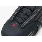 "Кроссовки Nike Air Jordan 14 Retro ""Last Shot"" - Black / Varsity Red - Black, фото 5 | Интернет-магазин Sole"