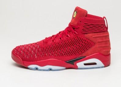 Кроссовки Nike Jordan Flyknit Elevation 23 - University Red / Black