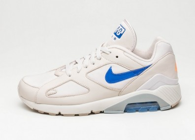 Кроссовки Nike Air Max 180 - Desert Sand / Racer Blue - Total Orange