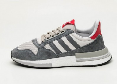 "Кроссовки adidas ZX 500 RM ""OG Colorway"" - Grey Four / Ftwr White / Scarlet"