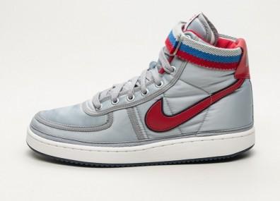 Кроссовки Nike Vandal High Supreme QS - Metallic Silver / University Red