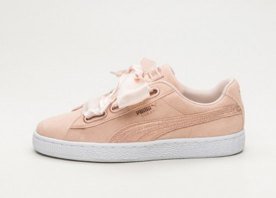 Кроссовки Puma Suede Heart LunaLux - Cream Tan