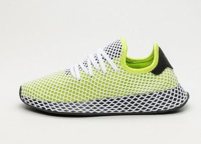 Кроссовки adidas Deerupt Runner - Semi Solar Slime / Core Black / Core Black