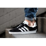 Мужские кроссовки adidas Originals Gazelle - Core Black/White, фото 1 | Интернет-магазин Sole