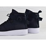 Кроссовки Nike SF Air Force 1 Mid - Black/White/Anthracite, фото 4 | Интернет-магазин Sole