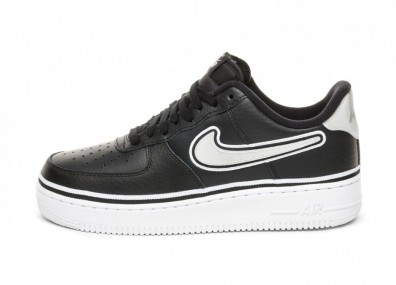 Кроссовки Nike Air Force 1 '07 LV8 Sport (Black / White)