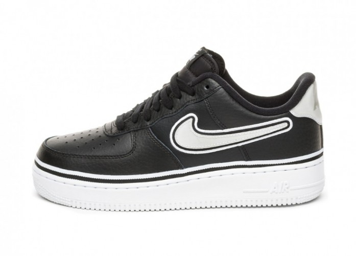 Кроссовки Nike Air Force 1 '07 LV8 Sport (Black / White) | Интернет-магазин Sole