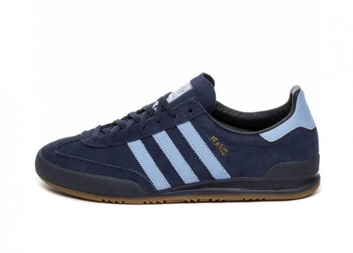 Кроссовки adidas Jeans (Collegiate Navy / Ash Blue / Gum) | Интернет-магазин Sole