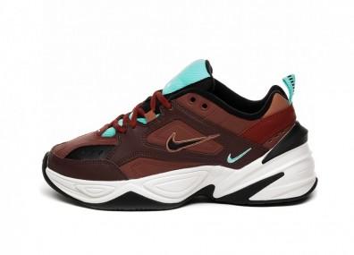 Кроссовки Nike Wmns M2K Tekno (Mahogany Mink / Black - Burnt Orange)