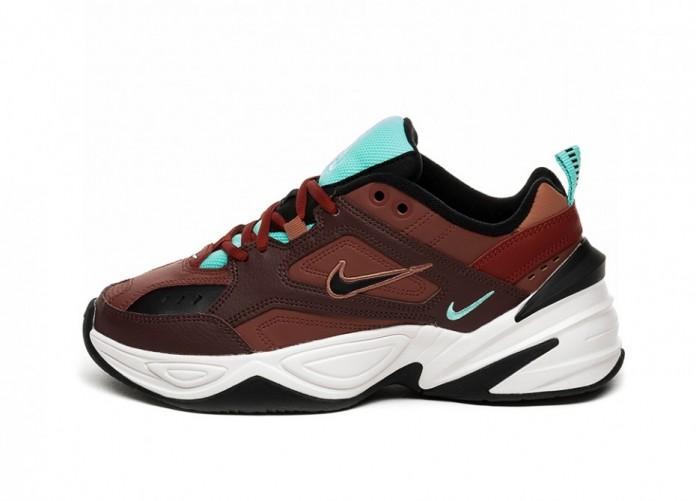Кроссовки Nike Wmns M2K Tekno (Mahogany Mink / Black - Burnt Orange) | Интернет-магазин Sole