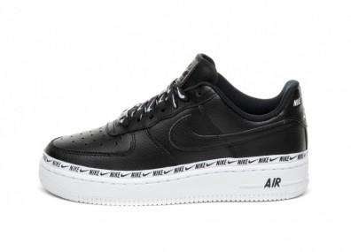 Кроссовки Nike Wmns Air Force 1 '07 SE PRM (Black / Black - White)
