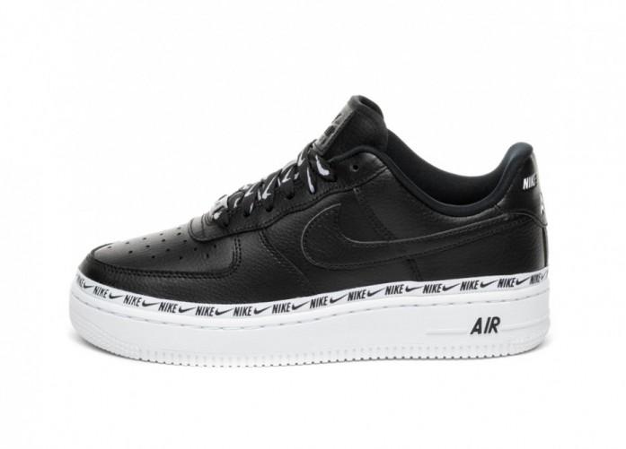 Кроссовки Nike Wmns Air Force 1 '07 SE PRM (Black / Black - White) | Интернет-магазин Sole