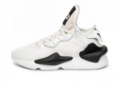 Кроссовки Adidas Y-3 Kaiwa (Core White / Ftwr White / Black)