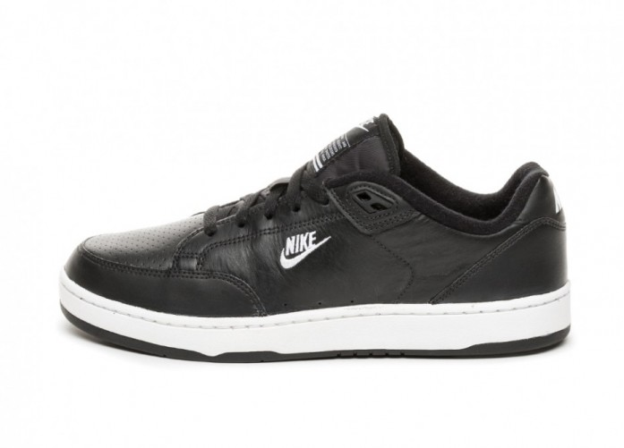 Кроссовки Nike Grandstand II (Black / White - Neutral Grey) | Интернет-магазин Sole