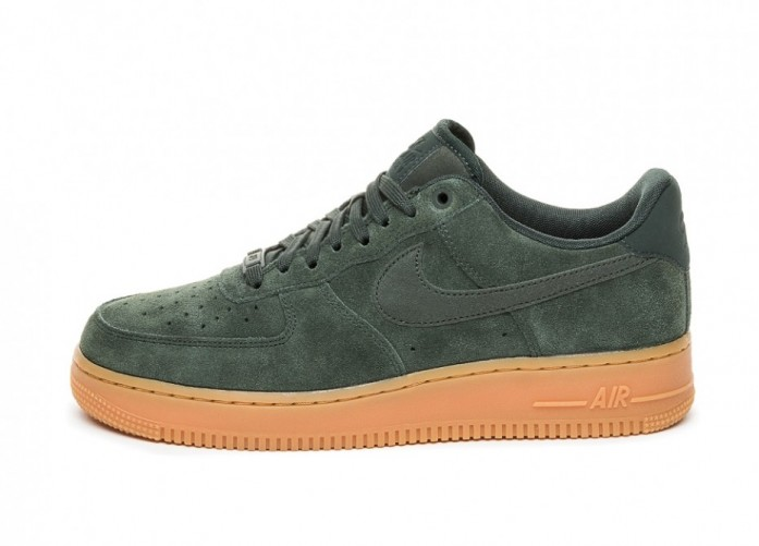 Кроссовки Nike Air Force 1 '07 LV8 Suede (Outdoor Green / Outdoor Green) | Интернет-магазин Sole