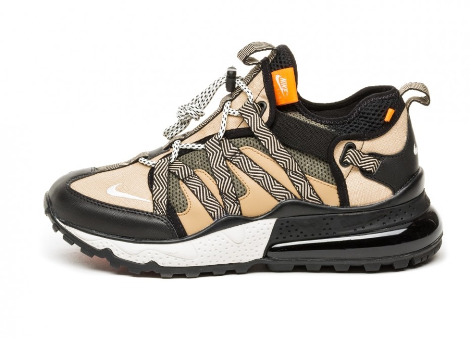 fedc1681 Кроссовки Nike Air Max 270 Bowfin (Black / Phantom - Desert - Cone ...