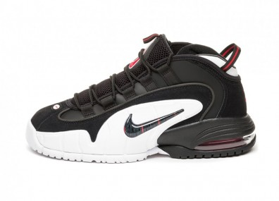 Кроссовки Nike Air Max Penny (Black   Black - White - University Red) 30ef9651ad8a2