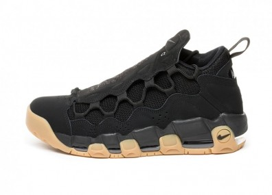 Кроссовки Nike Air More Money (Black / Black - Gum Light Brown)