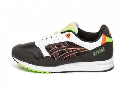 Кроссовки Asics Gel Saga (Black / Shocking Orange)