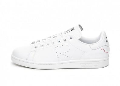 Кроссовки adidas x Raf Simons Stan Smith (Ftwr White / Cream White / Core Black)