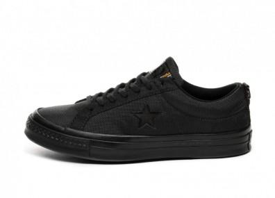 Кроссовки Converse x Carhartt One Star Ox (Black / Black / Black)