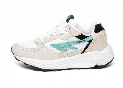 Кроссовки Hi-Tec HTS Silver Shadow RGS (Bone White / Blue Turquoise / Black)