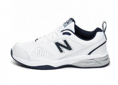 Кроссовки New Balance MX624WN4 (White / Navy)