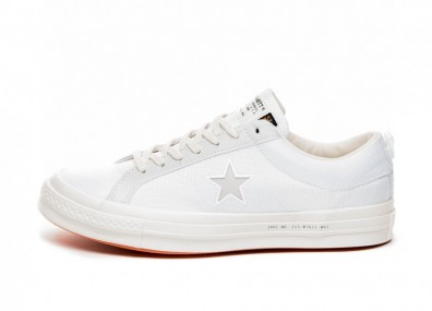 Кроссовки Converse x Carhartt One Star Ox (White / White / Vibrant Orange)