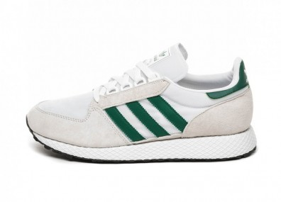 Кроссовки adidas Forest Grove (Crystal White / Collegiate Green / Core Black)