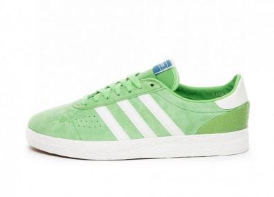 Кроссовки adidas München Super SPZL (International Green / Off White / Off White)