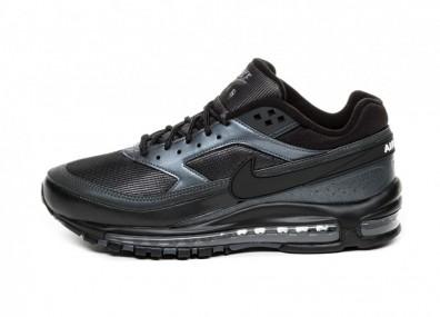 Кроссовки Nike Air Max 97 / BW (Black / Black - Hematite)
