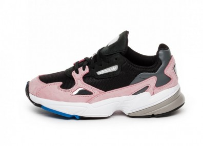 Кроссовки adidas Falcon W (Core Black / Core Black / Light Pink)