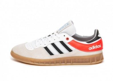 Кроссовки adidas Handball Top (Chalk White / Core Black / Solar Red)