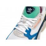 Кроссовки adidas Falcon W (Ftwr White / Ftwr White / Blue), фото 4   Интернет-магазин Sole