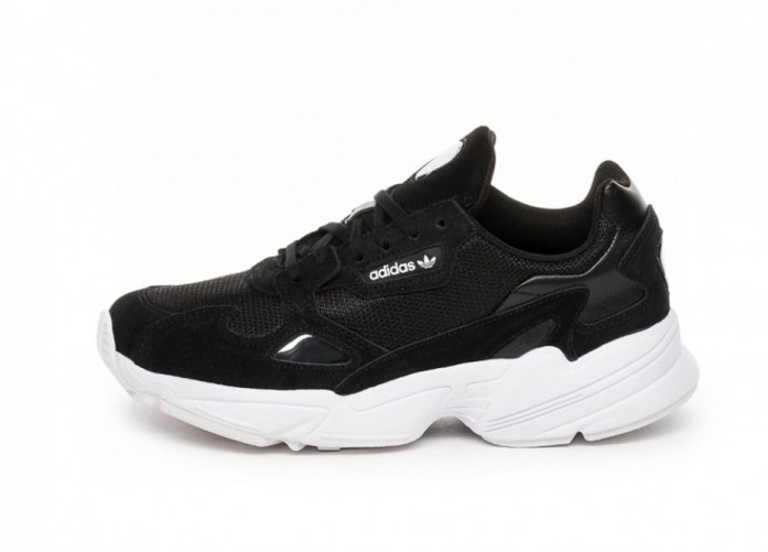 Кроссовки adidas Falcon W (Core Black / Core Black / Ftwr White) | Интернет-магазин Sole