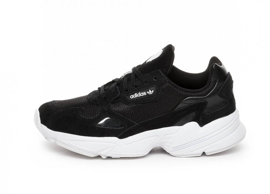 new style 14c1e 5cdf9 Кроссовки adidas Falcon W (Core Black   Core Black   Ftwr White)   Интернет