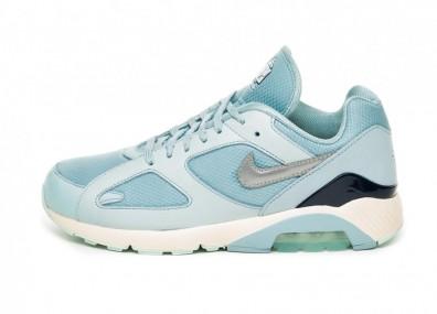 Кроссовки Nike Air Max 180 (Ocean Bliss / Metallic Silver / Igloo)