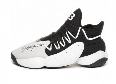 Кроссовки Adidas Y-3 BYW BBALL (Ftwr White / Black Y-3 / Black Y-3)